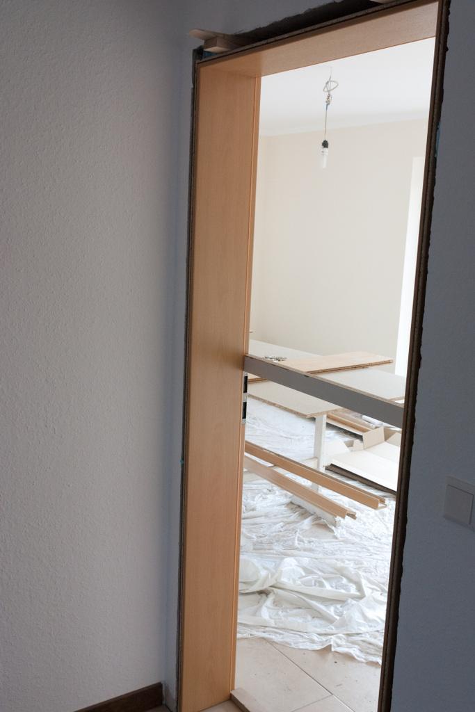eine halbe trzarge zum wohnzimmer schick in buchenholz aber ganz schlichtes glattes blatt jeder schnrkel lsst sich nur schlecht putzen - Wohnzimmer Schick